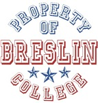 Breslin College Property Of Custom T-shirts Gifts