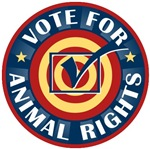 Vote For Animal Rights T-shirts Gifts