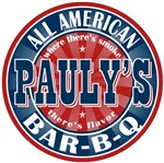 Pauly's All American Bar-b-q T-shirts Gifts