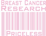 Breast Cancer Research Priceless T-shirts Gifts