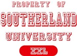 Property of Southerland University Tees Gifts