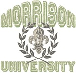 Morrison Last Name University Tees Gifts