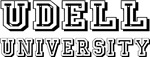 Udell Last Name University Tees Gifts