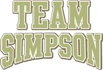 Team Simpson Custom Personalized Tees Gifts