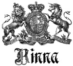 Rinna Vintage Family Name Crest Tees Gifts