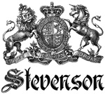 Stevenson Vintage Family Name Crest Tees Gifts