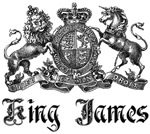 King James Vintage Family Crest Tees Gifts