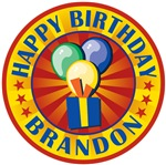 Happy Birthday Brandon Tees and Gifts