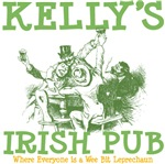 Kelly's Irish Pub Personalized Tees Gifts