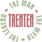 Trenten Man Myth Legend Tees Gifts