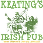 Keating's Irish Pub Personalized Tees Gifts