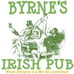 Byrne's Vintage Irish Pub Tees Gifts