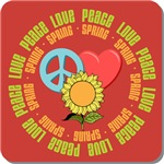 Peace Love Spring Tees Gifts