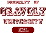 Property of Gravely Name University Tees Gifts