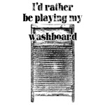 Playing Washboard