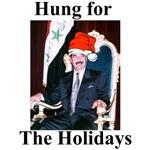 Saddam Hussein Hung for the Holidays