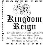 Women's Kingdom Reign #1 Black