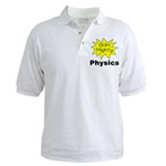 Ohm Mighty Physics. Tickle the funny bone of your favorite science geek with this design. Unique gifts for birthdays, holidays, back to school and graduations for your favorite scientist.