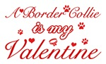 A Border Collie is my valentines