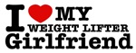 Cool Weight Lifter Girlfriend designs
