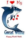 Shark Week-I Love My Great White