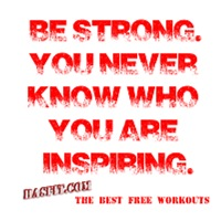Be Strong Workout Gear