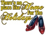 There's no place like Home for the Holiday is a beautiful mixture of the Wizard of Oz and the Christmas holiday season.