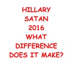 a funny anti hillary joke on gifts and t-shirts.