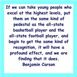 a great dr. ben carson quote on gifts and t-shirts