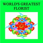 world's greatest florist gifts t-shirts