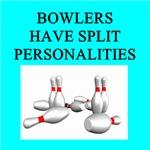 bowling joke gifts t-shirts