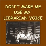 mom librarian voice gifts t-shirts