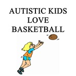 autistic girls basketball gifts t-shirts