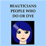 funny beauty beautician joke gifts t-shirts
