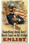 Patriotic-Uncle Sam Enlist