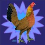 Starburst Gamefowl Hen