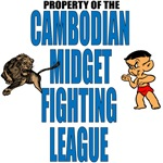Cambodian Midget Fighting League!