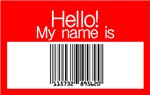 Coded Name Tags