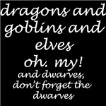 Dragons, goblins, and elves