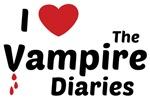 I Love The Vampire Diaries Tee Shirts