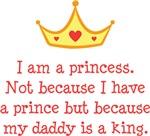 Daddy's Princess Shirts