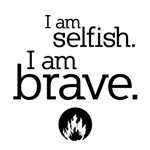 I Am Brave Dauntless Tee Shirts