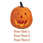 Personalized Pumpkin Face Shirts
