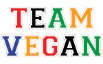 Colorful team vegan gifts for dedicated vegans.