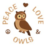 Peace Love Owls Gifts