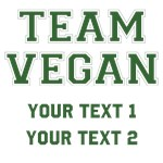 Team Vegan Custom Gifts