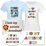 Autism Support Shirts and Gifts