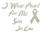 Son In Law Pearl Ribbon Awareness Shirts