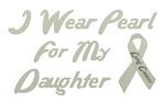 Daughter Lung Cancer Support T Shirt