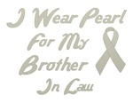 Brother in Law Pearl Ribbon Tee